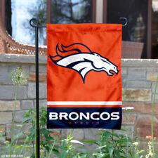 Denver Broncos Garden Flag and Yard Banner