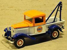 SpecCast's 1932 Ford Gulf Oil Wrecker - 1:25 - NIB - Orange/White/Blue