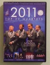 PORTLAND 2011 TOP 20 QUARTETS  barbershop harmony 73rd annual convention    DVD