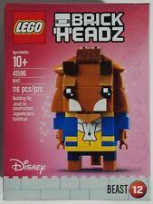 LEGO Brick Headz Beast 41596 116-pcs Disney Beauty and the Beast Building Toy