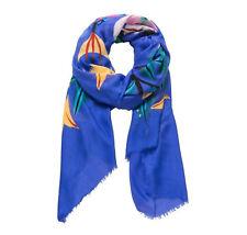 Foulard Liana Bleu Imprimé Floral. Desigual A24208808