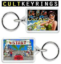 Out Run keyring - Sega cult arcade game, outrun
