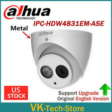Dahua 8MP Upgradable IPC-HDW4831EM-ASE ePOE WDR IR Turret IP Camera Built-in MIC