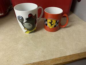 2 x Ferrari Mugs