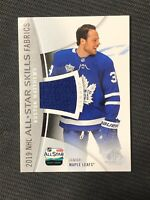 2019-20 SP GAME USED AUSTON MATTHEWS ALL-STAR SKILLS FABRICS JERSEY #AS-AM