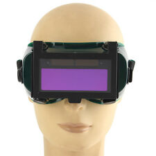Solar Auto Darkening Arc &TIG MIG Welding Mask Helmet Welder Cap Goggles Black