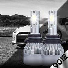 2x 9012 HIR2 LED Headlight Bulb High/Low Beam Kit 72W 6000K Philips Flip Chip