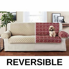 Sofa cover protector set With Separete Arm Seater Reversible Furniture Slipcover