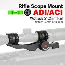 Adjustable Rifle Scope Mounts 30mm/25.4m RingsRifleScope with Bubble Level