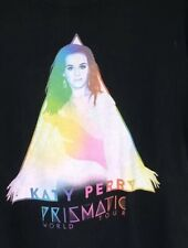 "KATY PERRY (2014) Official ""Prismatic World Tour"" Concert Dates T-Shirt Medium"
