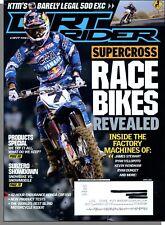 Dirt Rider - 2012, April - Supercross Race Bikes Revealed, KTM 500 EXC