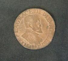 Koperen munt Spaanse Nederlanden: Onbekende munt uit 1593 in ZF+