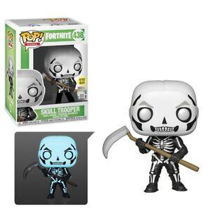 Funko Pop! Games: Fortnite Skull Trooper (Glow In The Dark) #438 - Brand New