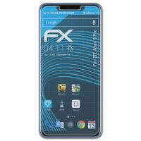 atFoliX 3x Pellicola Protettiva per ZTE Axon 9 Pro chiaro