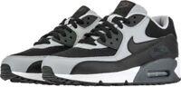 Men's Nike Air Max 90 Essential Running Shoes Grey/Black-Wht NIB 8-12 537384-053