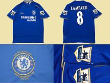 Chelsea jersey 2005 2006 centenary lampard shirt playera blues premier league