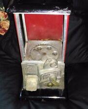 ESTATE SALE Vintage Unrestored 1923 Red & Black Masters Gumball Machine w/ Key