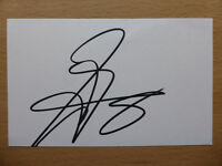 Hand Signed Football Index Cards *****M***** Page 1