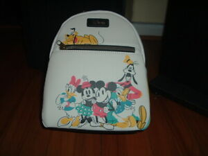 LOUNGEFLY DISNEY SENSATIONAL SIX MINI BACKPACK~ WITH TAGS~ NEW~ TANGLED~