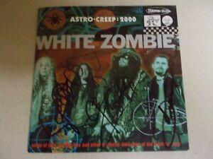 White Zombie-Astro Creep 2000 Promo Fully Signed CD