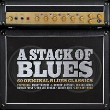 A Stack Of Blues VARIOUS BLUES Best Of 60 Classic Songs ESSENTIAL New 3 CD