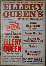 ELLERY QUEEN MYSTERY MAGAZINE 1966 APRIL