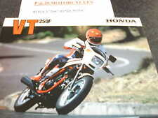 HONDA VT250F SALES BROCHURE