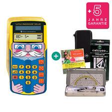 TI Little Professor Taschenrechner + Schutztasche GeoSet Lern-CD Garantie