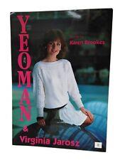 Vtg Yeoman No 8 Panama Cable standard machine knitting pattern by Karen Brookes