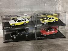 Opel Kadett Sammlung / Set A B C GT/E D GT/E 1:43 (4 Modelle)