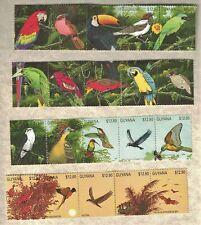 20 1991 GUYANA AFRICA BIRDS BATS STAMP MNH