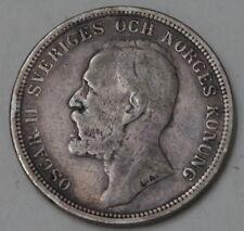 Suecia  2 Kronor 1890