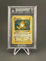Raichu Shadowless - Base Set Holo 14/102 - Pokemon - BGS 9 - Pokemon Card Mint