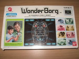 Wonder Borg Autonomous Insect Robot Bandai Wonder Swan - Very Good Condition