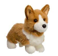 "Tan Welsh Corgi Douglas Cuddle 10.5"" plush LOUIE dog stuffed animal toy"