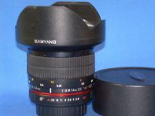 SAMYANG, 14mm f/2.8 ED AS IF UMC, Super-Wide lens w/ Pentax PKA mt. Manual Focus