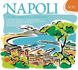 NAPOLI LE PIU' BELLE CANZONI - 3 CD  NUOVO SIGILLATO FLASHBACK