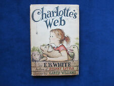 CHARLOTTE'S WEB SIGNED by ILLUSTRATOR GARTH WILLIAMS