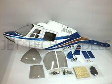 FUNKEY Scale Fuselage - Jet Ranger .30 (550size) BLUE COLOR