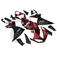 Red ABS Plastic Fairing Body Work For Yamaha YZFR1 YZF R1 2009-2011 2010