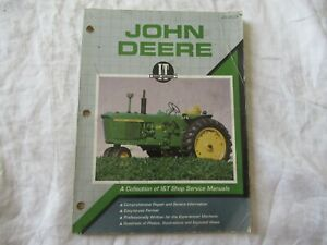 John Deere 4020 5020 6030 3010 4010 5010 4320 3020 tractor service shop manual