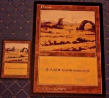 MTG ARENA 1996 PROMO 2 COUNT PLAINS CIRCLE M 6x9  JUMBO CARD FROM PACK FREE SHIP