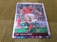 JOHANN CRUYFF OLANDA FIGURINA DS STICKERS FRANCE 98 WORLD CUP new