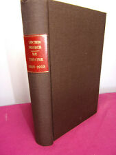 Lucien Dubech LE THEATRE, 1918-1923 EDITION ORIGINALE