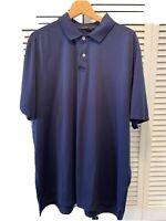RLX Polo Ralph Lauren Golf Shirt Men's Navy Blue Size Extra Extra Large