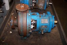 REBUILT GOULDS 3196 CENTRIFUGAL CAST IRON PUMP 1 X 1.50-8 1800 RPM 20 GPM 7/8""