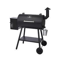 Z GRILLS ZPG-5502H 8 in 1 BBQ Pellet Grill Smoker w/ Digital Temp Control, Black