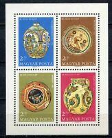 32460) HUNGARY 1968 MNH** Hungarian Earthenware S/S