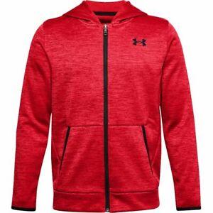 New Under Armour Boys Fleece Full Zip Hoodie Choose Size & Color MSRP $45