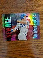 1995 Summit New Age Los Angeles Dodgers Baseball Card #NA12 Todd Hollandsworth